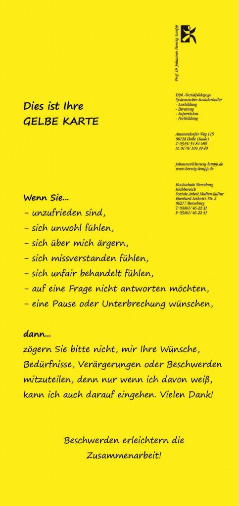 Gelbe Karte-AI-back